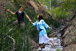 Peter Pan and Wendy II by ajphoto