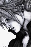 Cloud Strife FF7 by RebellionAngel