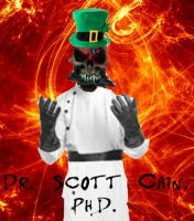 Dr. Scott Cain from Fireball Nightmare by Garrison-Kelly