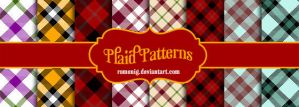 Plaid Patterns by Romenig