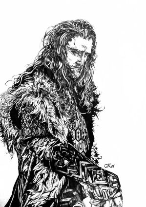Thorin Oakenshield by Capbird