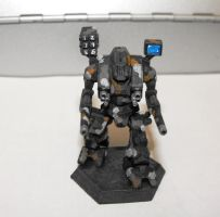 WHM-6R Warhammer for Steel Raven, Front by TheCentipede