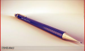 Mechanical Pencil C4D by Pixel-ified