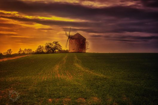 The Windmill by XanaduPhotography