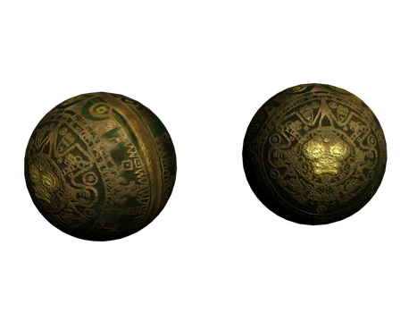 Mayan / Aztec Sphere by A-Not-E