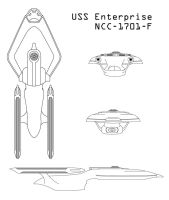 Contest Entry: Enterprise-F by R-Zion