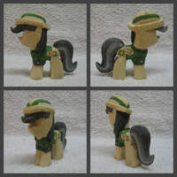 Daring Do Woodwork by CutieMarkCarver