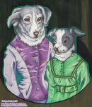 Carl's Lady Collies by DivineTofu