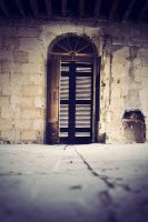 Behind the door by ChristineAmat