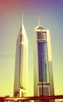 Emirates Towers.. by eLPrestiGe