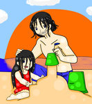 Sandy Days With Daddy by Lynnae-Madison