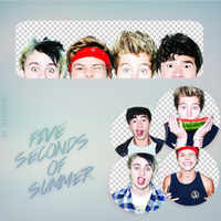 5SOS Png Pack by dilaygomez