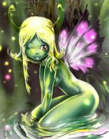 Li'l Faerie - colored by scarypet