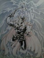 Thor, free comic book day sketch by NicoBlue