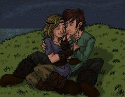 Dani and Hiccup by Bonka-chan