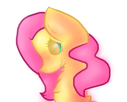 Fluttershy by dragonsweater