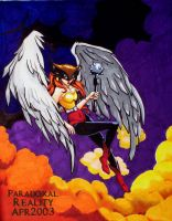 Finished HawkGirl by paradoxal