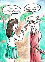 inuyasha contest entry by Tatta-doodles