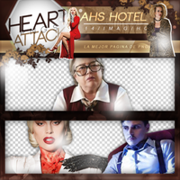 +Photopack png de American Horror Story HOTEL. by MarEditions1