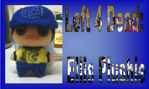 *improved* left 4 dead 2 Ellis plushie by Jack-O-AllTrades