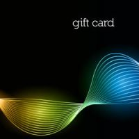 Free Vector of the Day #258: Colorful Gift Card by cristina012