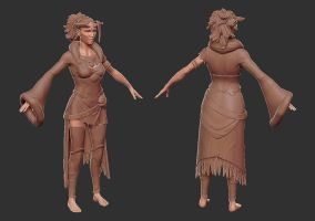 Lilith Model Progress by Magmabolt