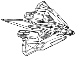 GA-TL1 Longsword - class Interceptor by Dandelo1