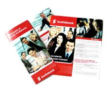 Scotiabank - Brochures by InterGraphicDESIGNS
