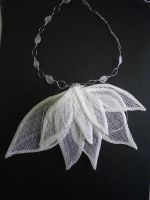 Lotus necklace by Mad-Mad-Muffin