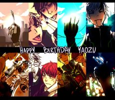 rE:VOLUTION - Happy Birthday Yaozu by toxic-zone