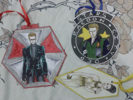 My Resident Evil bookmarks by divadonna224