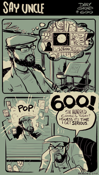 Daily Grind 600 by sayunclecomics