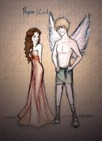 Psyche and Cupid by LikeATowtruck