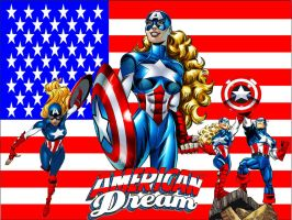 American Dream wallpaper by SWFan1977