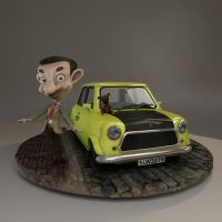 Mr. Bean Cartoon final project / Critiques by IceGirl84
