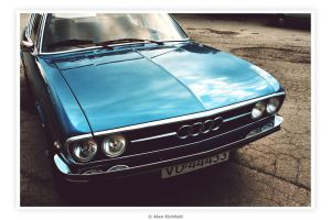 1973 Audi 100 Coupe S by Alan-Eichfeld