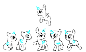 Foal group base ms paint by jazzlovessilkies