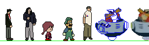 Super Smash Bros. Lawl Sprites (Unfinished) by Skapokon
