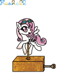 Created YCH Number 8 (Music Box Pony A) - (Pixel) by Kushell