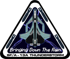 SFA-13 Thunderstorm Flight Insignia by viperaviator