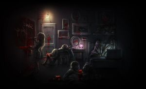 Reasonably Insane Room by MarySdfghjkl