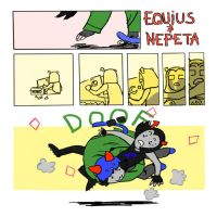 Equius and Nepeta by gaelanhammond