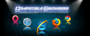 Compatible Browsers by amruthpillai95
