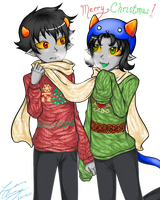HSSecretsanta: Sweaters in the Frost by Koru-ru