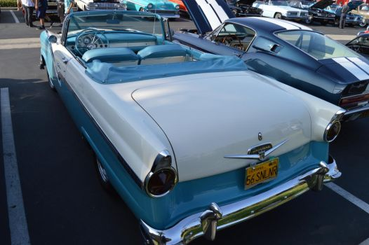 1956 Ford Fairlane Sunliner Convertible VI by Brooklyn47