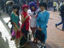 The Awesome Ranma Group 8 by Jarrahwhite
