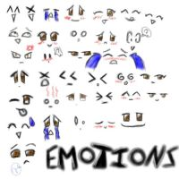 Emotions 1 by MsMeako