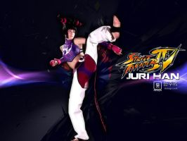 Juri Han Wallpaper by santichan