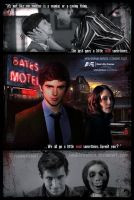 Bates Motel tv show by smalltownhero