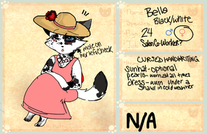 Kitty-Katty-City Application: Bella by SpottedFedoras
